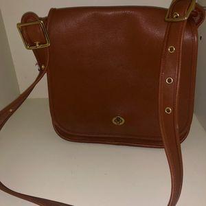 Used Coach Legacy Saddle Bag